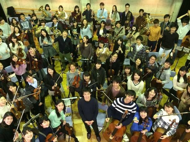 Orchestra MOTIFの団員達