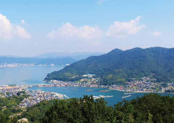 内海町の風景