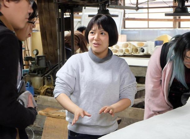 長田製紙所 天然紙 工場案内