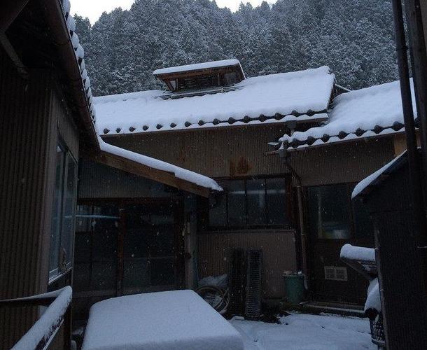 長田製紙所 天然紙 冬