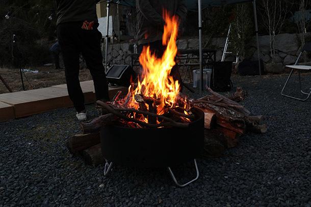 大人の火遊び「焚き火」