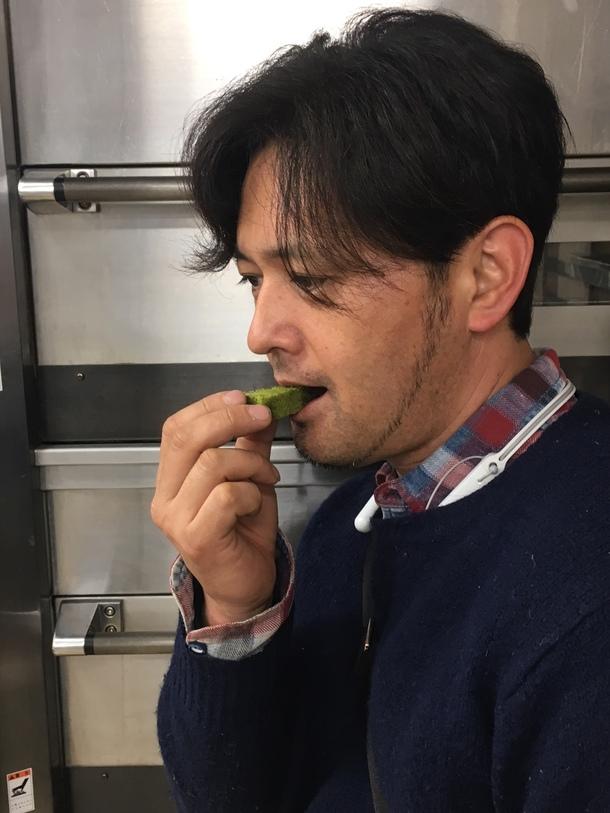 大野耕生さんも試食に参加してくれました。