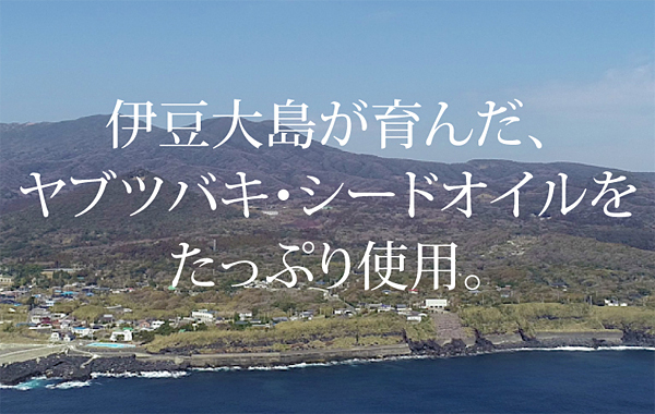 伊豆大島産ヤブツバキ・シードオイル
