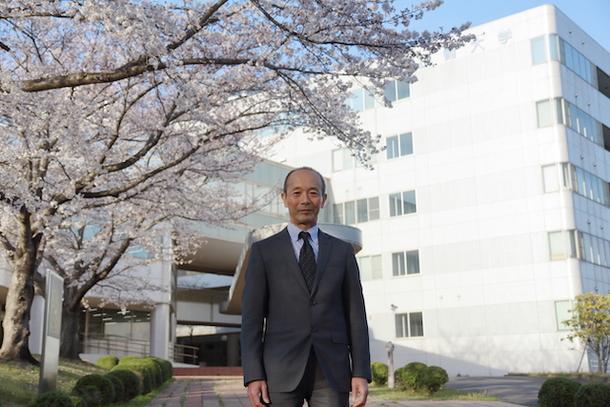 本学学長の写真