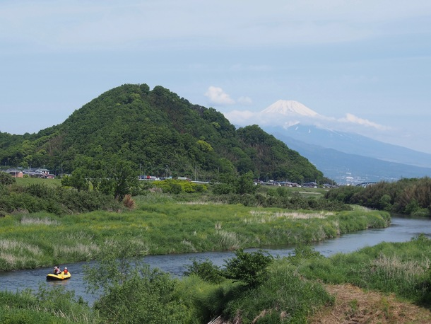 狩野川ラフト 富士山