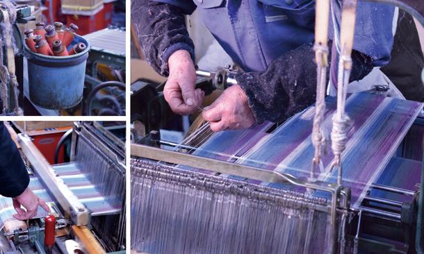 遠州綿紬製造工程