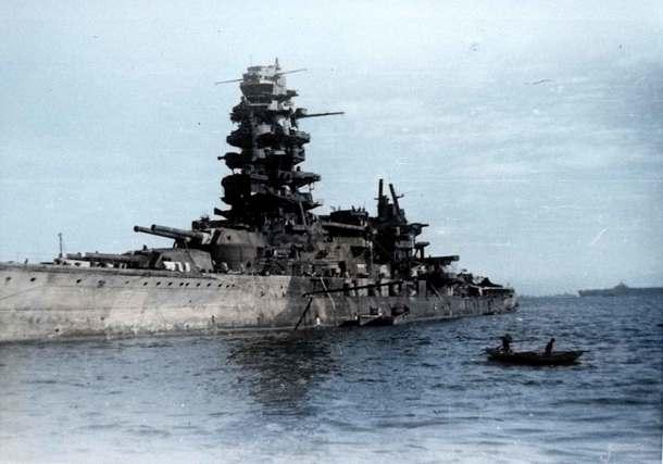 占領下時代の戦艦長門