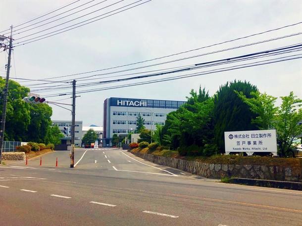 日立製作所笠戸事業所正門(通用門)