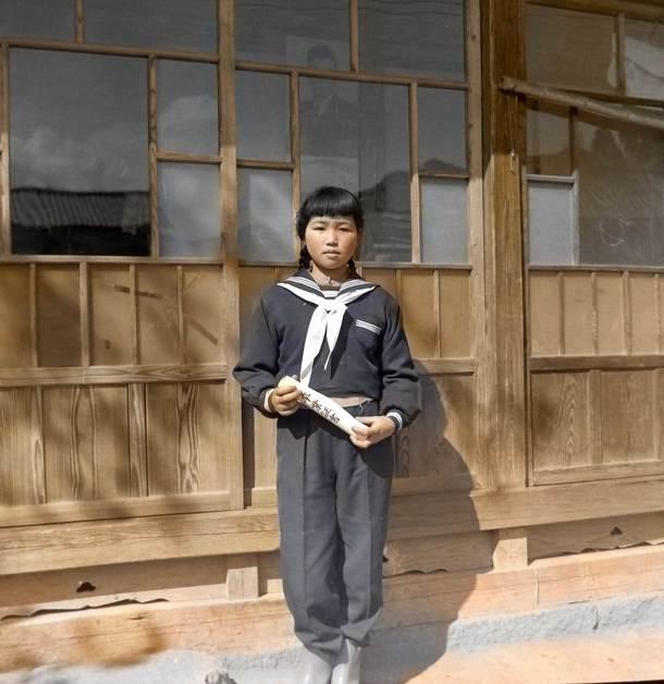1949年の卒業式