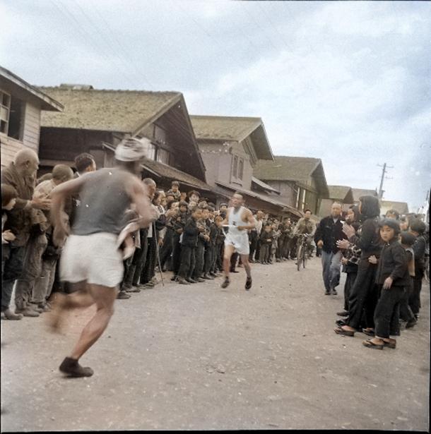 1950年のマラソン大会