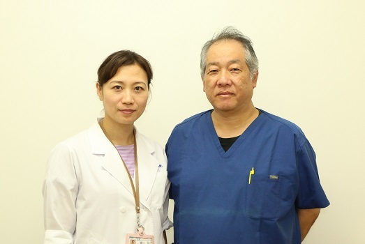 丸山記念総合病院乳腺専門医の髙橋孝郎先生と廣川詠子先生