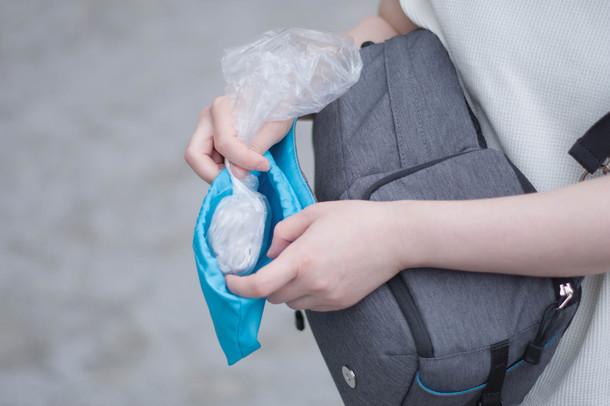 エチケット袋収納ポケット
