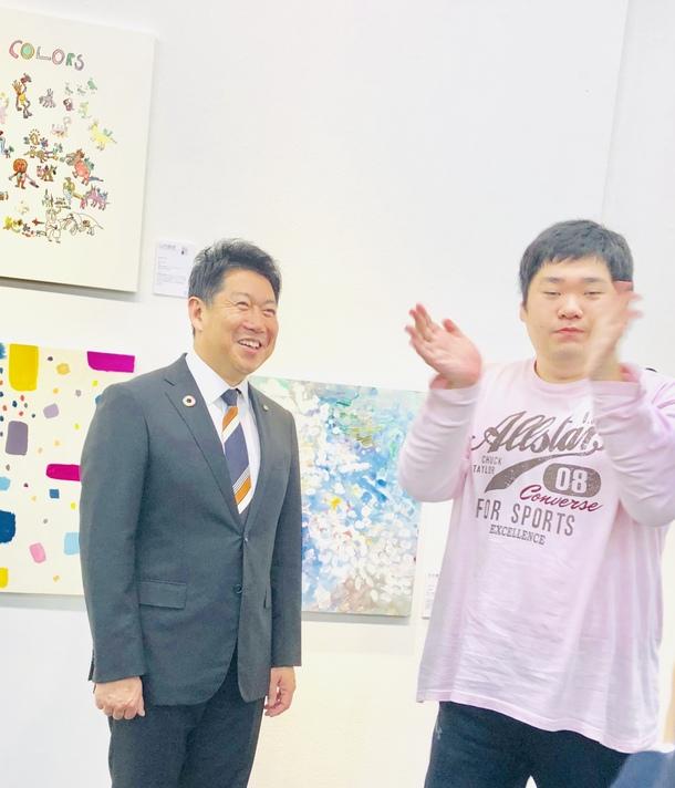 2018年colorsかわさき展にて