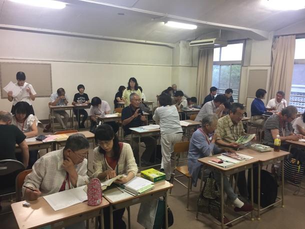 岡山に夜間中学校をつくる会撮影