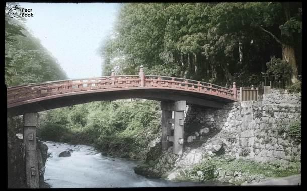 1880年代の神橋