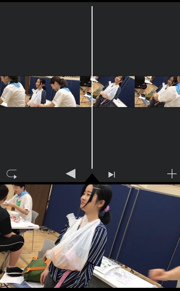 プロジェクトのメイン画像実は動画だったんです!中国で一人ベッドに座りながらひたすら野口さんの笑顔を切り取るべく悪戦苦闘していました…