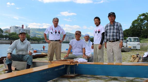 チーム筏のスタッフ集合