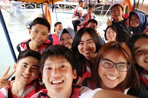 マレーシアで出会ったたくさんの友達。