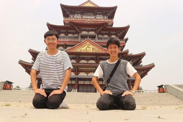 中国の親友。