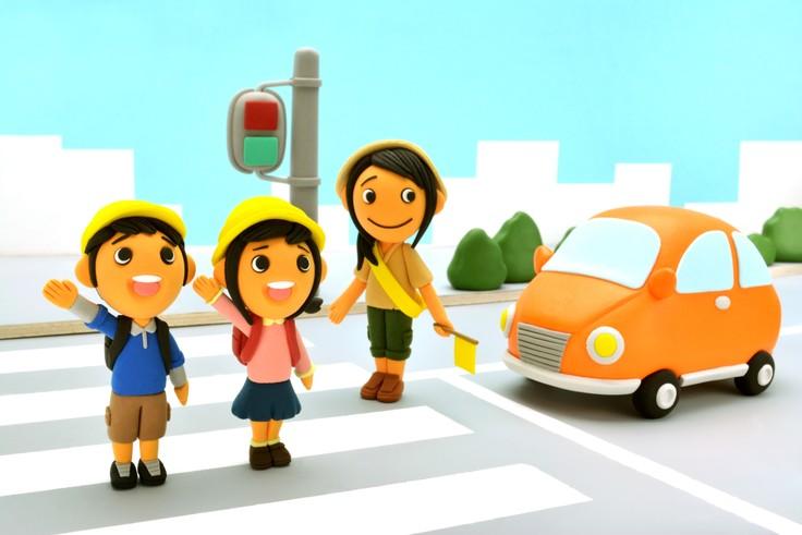 交通安全見守り