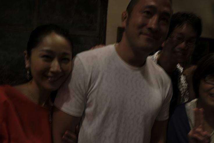 大山峻護さんと桜香純子さんの写心