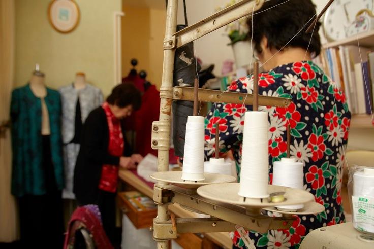 オーダーメイドファッション専門店『セピア洋装店』の工房