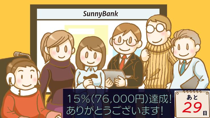サニーバンククラウドファンディング2日目について