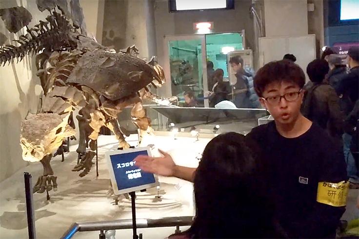 恐竜の説明に挑戦