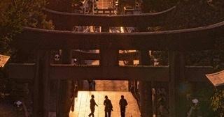 光の道 宮地嶽神社⛩