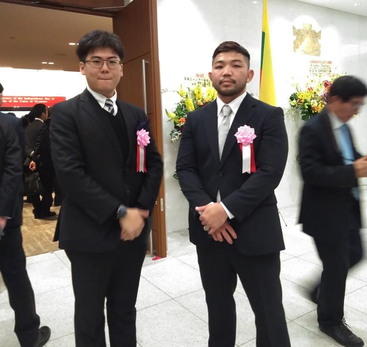 駐日ミャンマー大使館で行われた独立記念パーティーに出席 ...