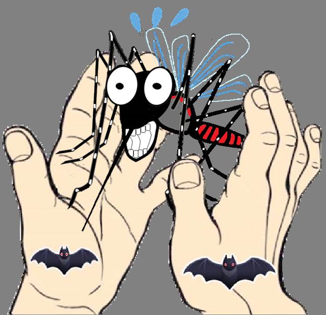 Bat hand(コウモリの手)