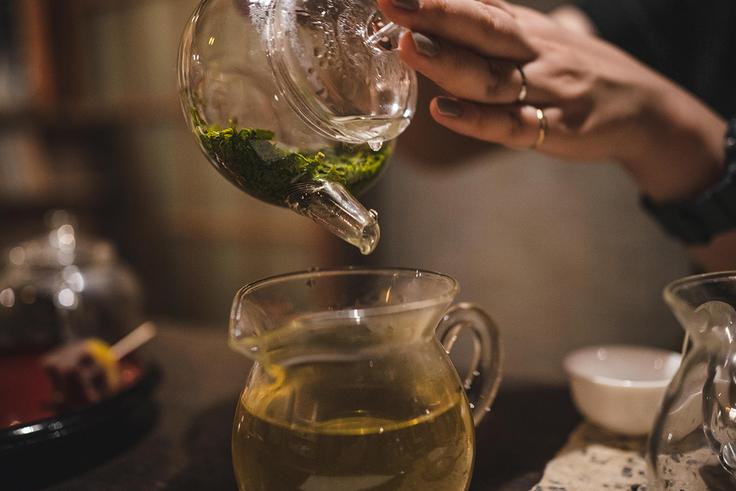 日本茶の喫茶