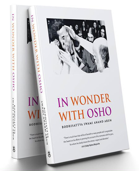 In Wonder With Osho 表紙