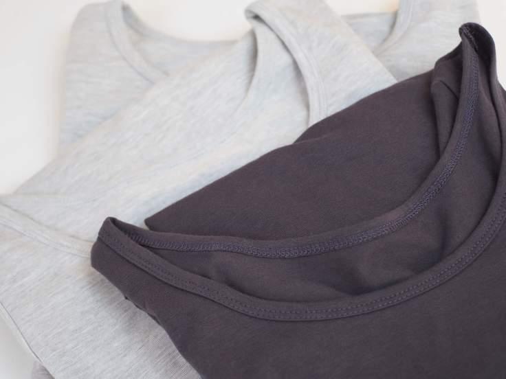 【sumigi】ココロ カラダ スミキル ワイドラウンドネックTシャツ