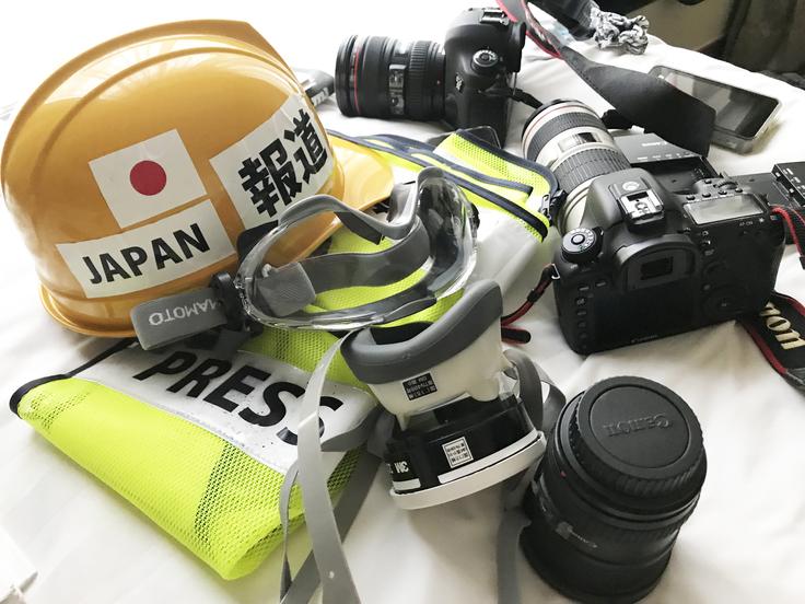 カメラ・ヘルメット