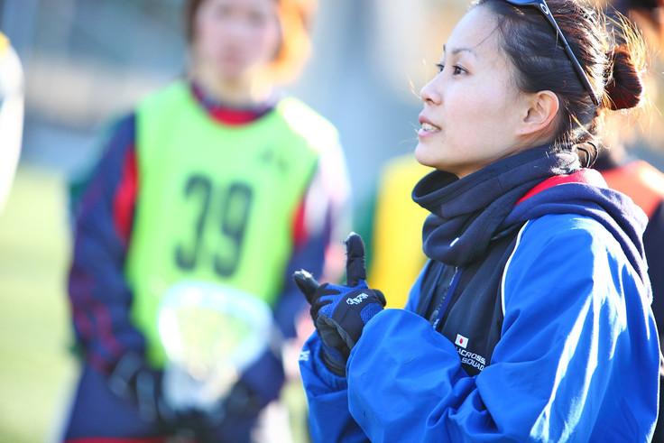 女子 代表 ラクロス 日本