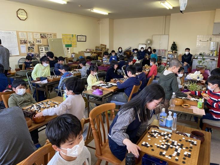 国見こども囲碁教室