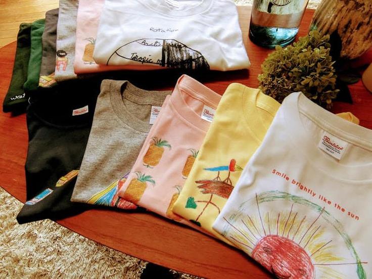 ▲ESAのTシャツ