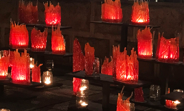 Candle Art作品