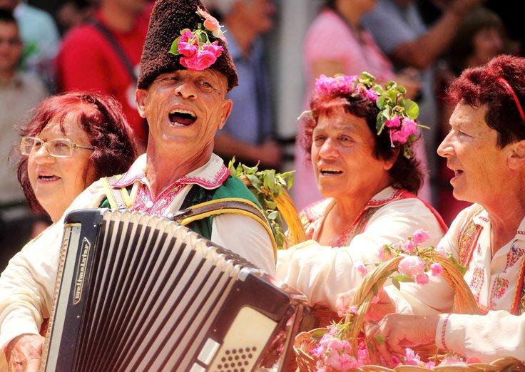 ブルガリアのバラ祭り
