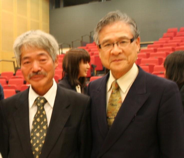 中村先生・猫塚先生