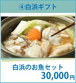 ¥30,000 白浜のお魚セット 新鮮な白浜の魚介類をお届けします。(2個口でお送りします。)
