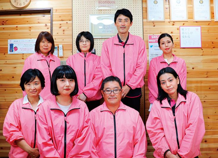 女性スタッフは中心の若い会社です