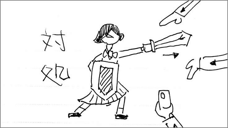 学生に知ってほしい痴漢の真実 絵コンテS-03-26 修正版