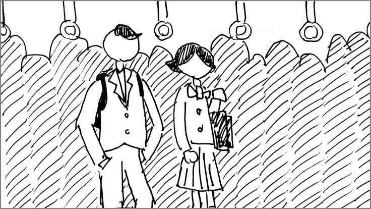 学生に知ってほしい痴漢の真実 絵コンテS-03-33 修正版