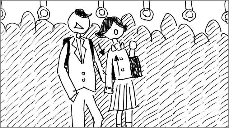 学生に知ってほしい痴漢の真実 絵コンテS-03-34 修正版