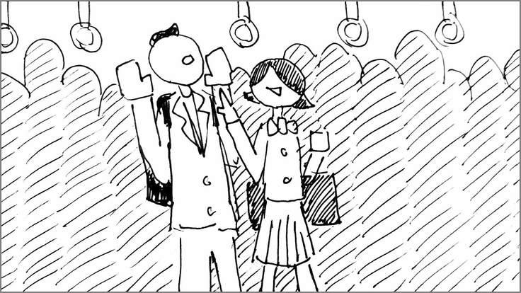 学生に知ってほしい痴漢の真実 絵コンテS-03-36 修正版