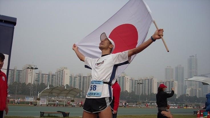 24時間走世界大会4回目の優勝の写真
