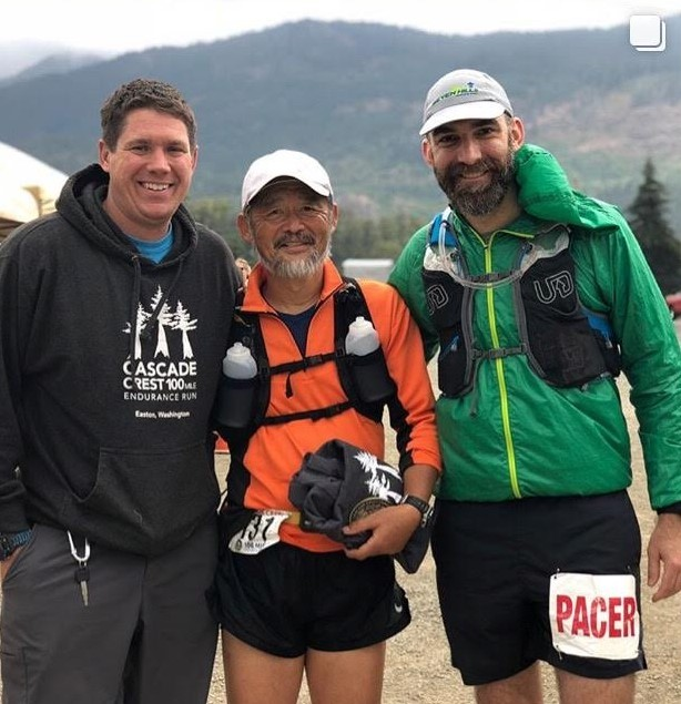 Cascade Crest 100, 2018  Rich and Kevin