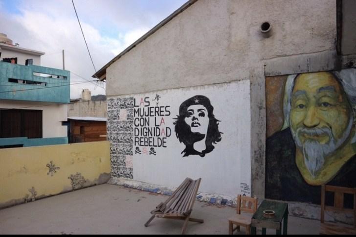 カサカサの壁画2